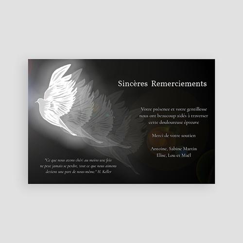 Remerciements Décès Universel - Condoléance 65770 thumb