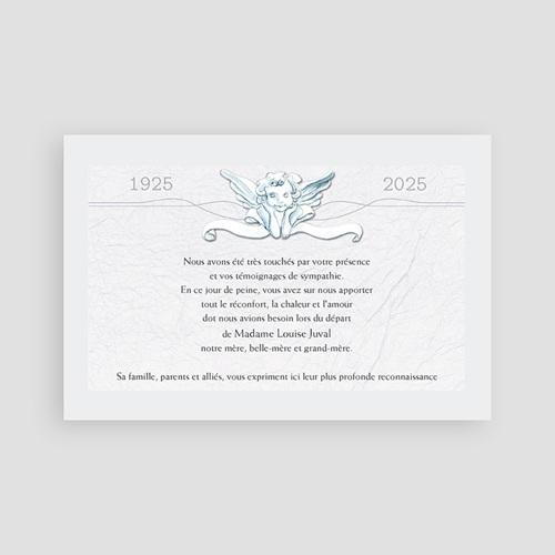 Remerciements Décès Universel - Un ange passe  65808 thumb