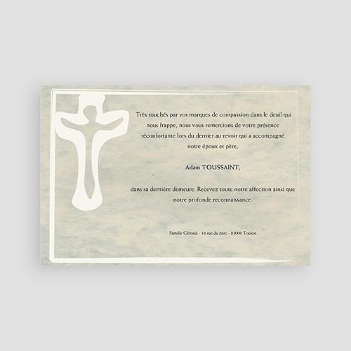 Remerciements Décès Chrétien - Splendor 65855 thumb