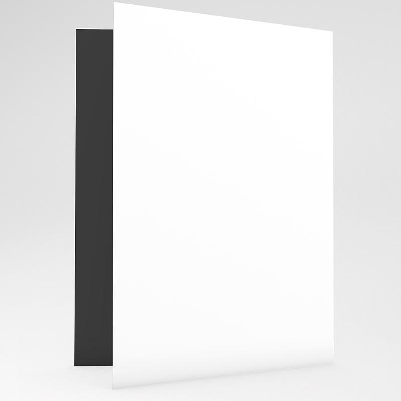 Carte Remerciement Décès Universel Gémissons - 2 volets gratuit