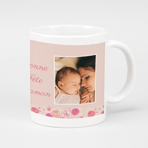 Mug Personnalisé Fête des Mères Cadeau original pas cher Bonne fête maman
