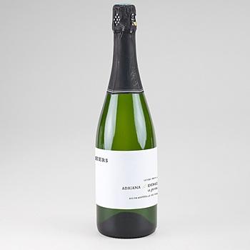 Etiquette bouteille mariage tradition modernisée pas cher