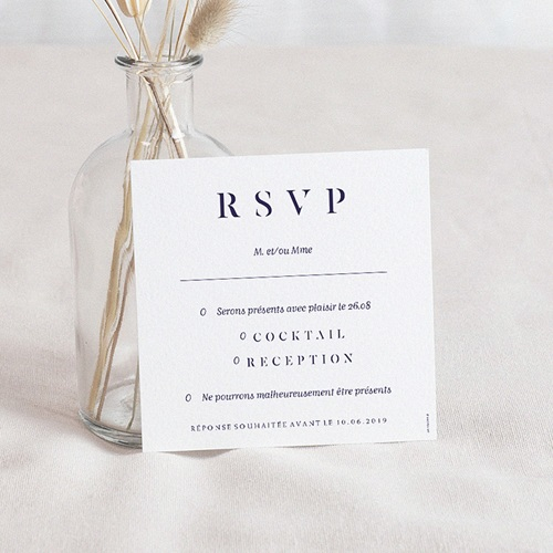 Carte Invitation Mariage Love Rosé