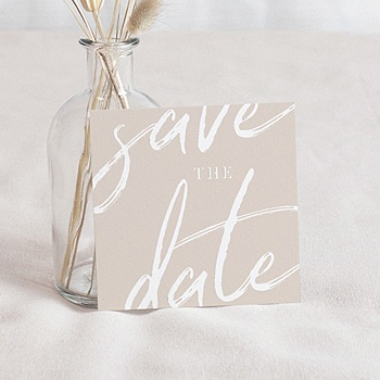 Save-The-Date - Nuances rosées - 0