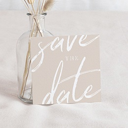 Save-The-Date Nuances rosées