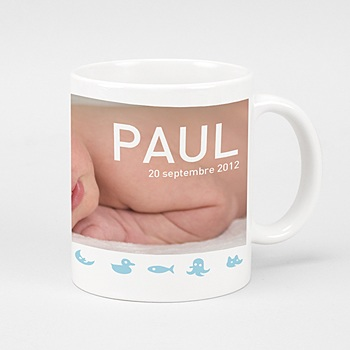 Mug Animaux Bleus