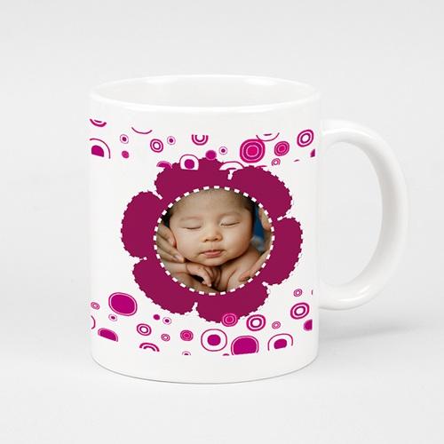 Mug Personnalisé Photo Trinquons - rose