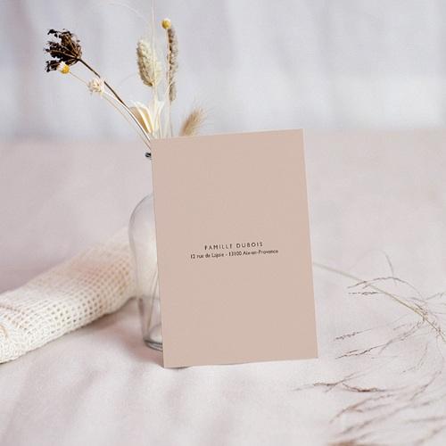 Carte Remerciement Naissance sans Photo Petit Amour pas cher