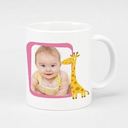 Mug Naissance Girafe
