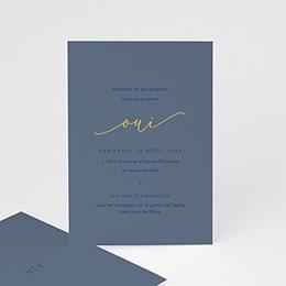 Carte Invitation Mariage Modern Minimalist