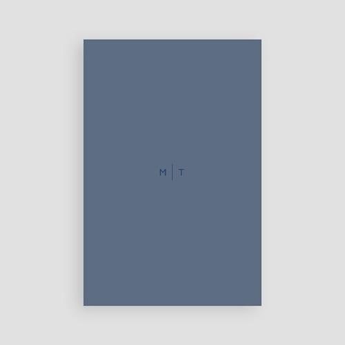 Carte invitation mariage Modern Minimalist pas cher