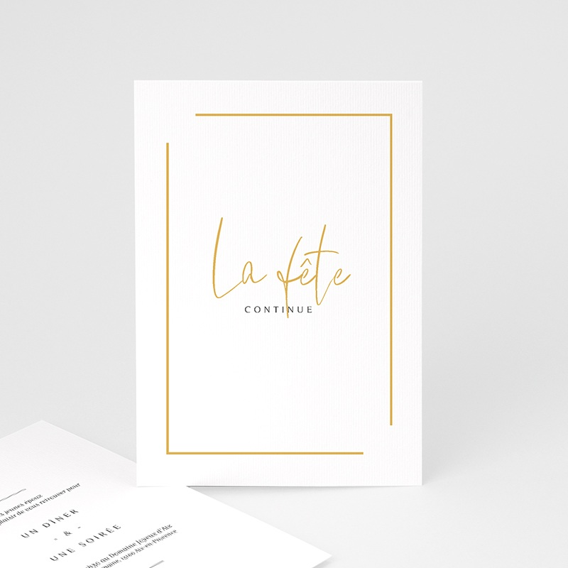 Carte Invitation Mariage On se marie