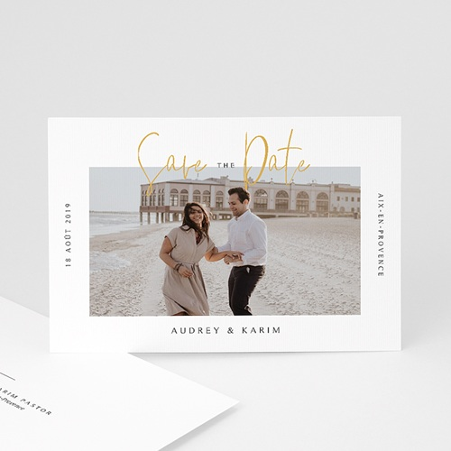 Save the date mariage On se marie