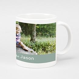Mug Baptême Trinquons - bleu