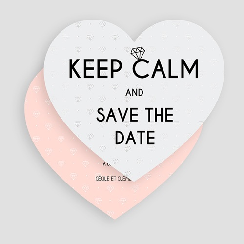 Save The Date Mariage Mariage Soon gratuit