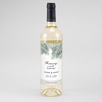 Acheter étiquette bouteille mariage vin palm springs wine