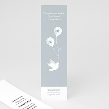 Marque-Page baptême - Peaceful - 0