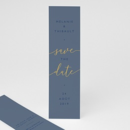 Save the date mariage Modern minimalist