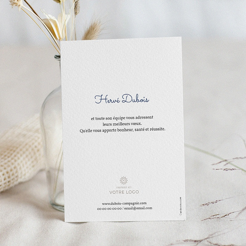 Carte de Voeux Professionnelle - Design Year 67027 thumb