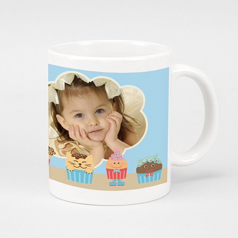 Mug Personnalisé Photo  Cupcakes