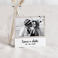 Save The Date Mariage Formes Abstraites