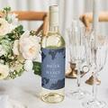 Étiquette bouteille mariage vin Monde Entier