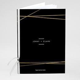 Livrets de Messe Mariage Minimalist black