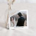 Carte remerciement mariage créatif Merci Mentholé
