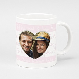 Mug Fiançailles et St Valentin Parlez Moi d'Amour
