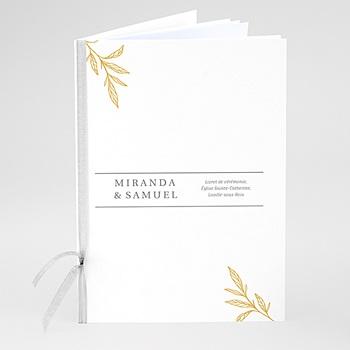 Livrets de Messe Mariage - Botanique Minimaliste - 0