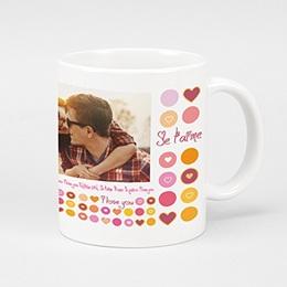 Mug Fiançailles et St Valentin Mon Ame Sœur