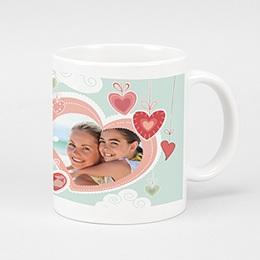 Mug Festival de coeurs
