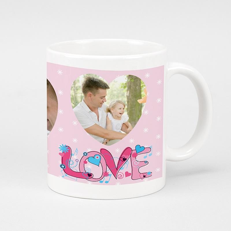 Mug Personnalisé Photo Amour acidulé