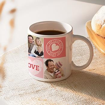 Mug Je t'aime personnalisable