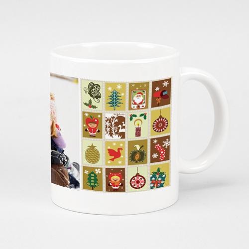 Mug Personnalisé Photo Décoration de noel