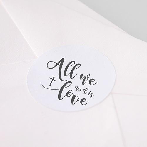 Etiquette Autocollante Communion Love Needed pas cher
