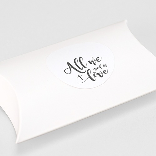 Etiquette autocollante communion Love Needed gratuit
