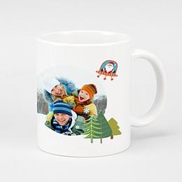 Mug Noël  Noel en couleurs