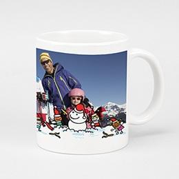 Mug Noël Partie de boule de neige