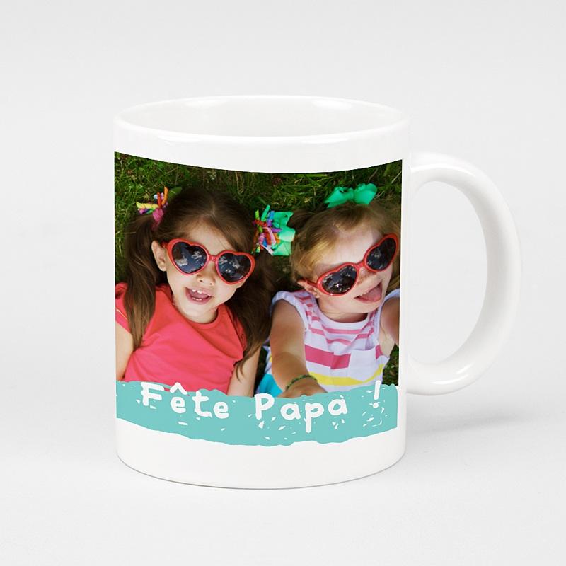 Mug Personnalisé Photo Fête des papas