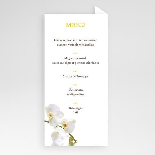 Menu Mariage Personnalisé Le Lunch de l'Orchidée pas cher
