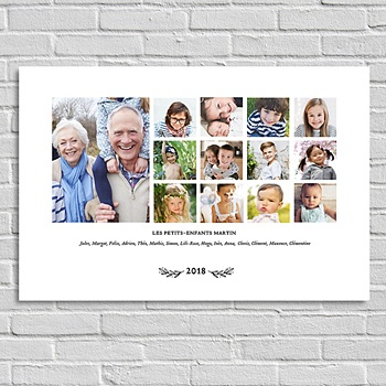 Poster personnalisé - La famille (paysage) - 0