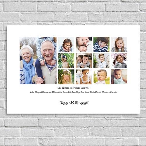 Poster photo La famille (paysage)