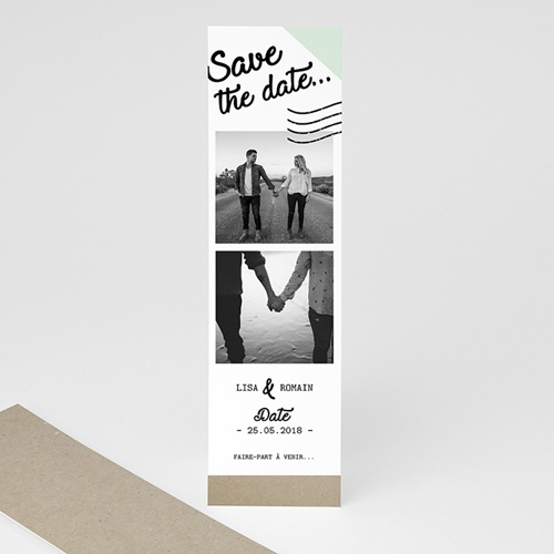 Save the date mariage Time To Love
