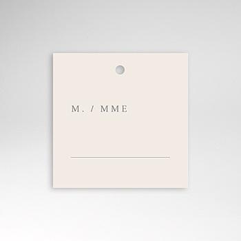 Marque Place Mariage - Botanique Minimaliste - 0