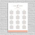 Plan Table Mariage Color Touch