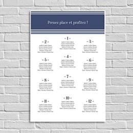 Poster Mariage Prenez Place