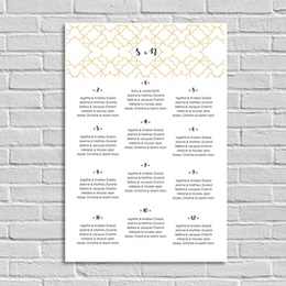 Poster Mariage Alhambra