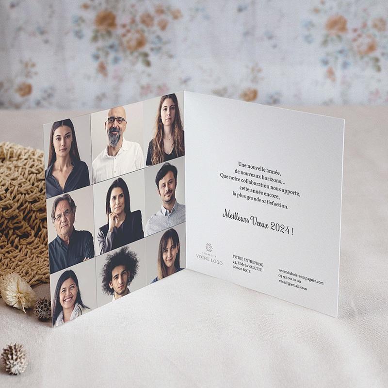 Carte de Voeux Professionnelle - Golden Tree 67920 thumb