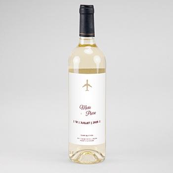 étiquette bouteille mariage vin wedding pass sur mesure